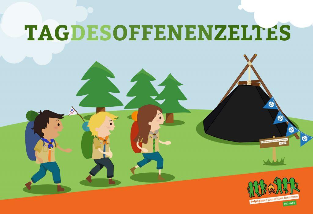 Tag des offenen Zeltes