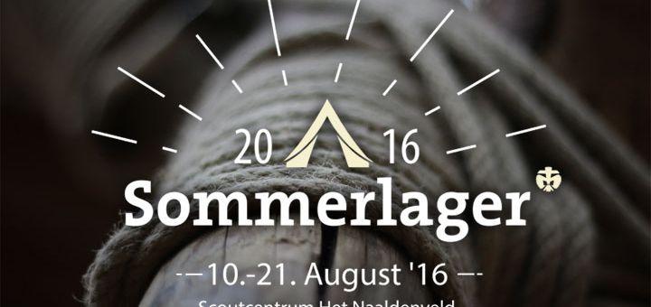 Sommerlager 2016 im Scouting Labelterrain Het Naaldenveld in Bentveld - Pfadfinder DPSG Herz-Jesu Witten-Bommern