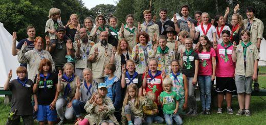 SoLa 17 Gruppenbild mit dem ganzen Stamm