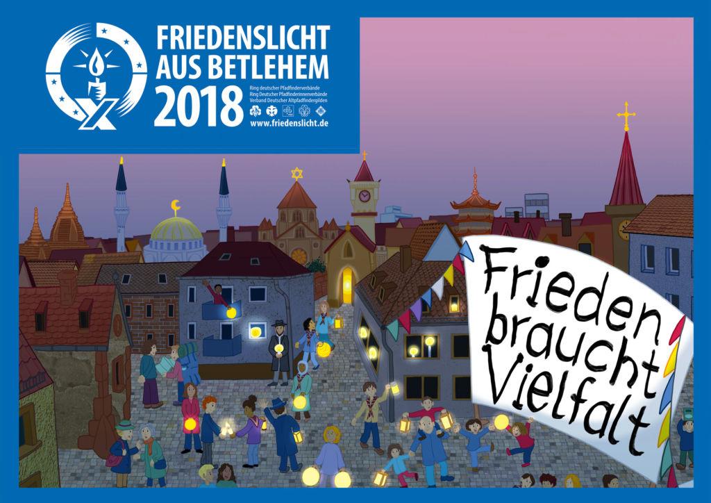 Friedenslicht-2017 - Aussendungsfeier in der Herz-Jesu-Kirche Witten-Bommern am 16. Dezember um 18 Uhr