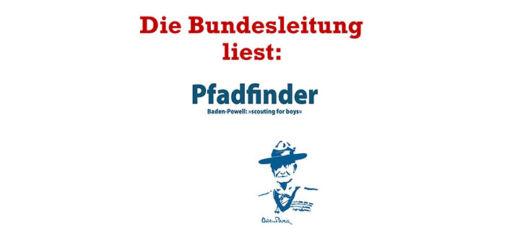 """Die Bundesleitung liest: Pfadfinder - """"Scouting for boys"""""""